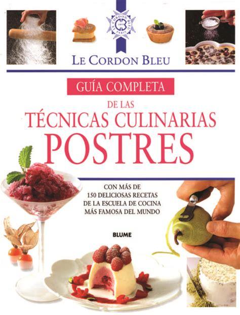 Gua Completa Tecnicas Culinarias