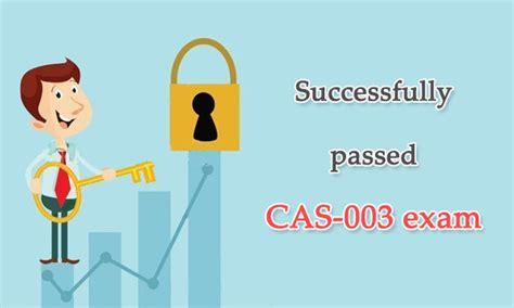 Guaranteed CAS-003 Passing