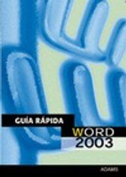Guia Rapida De Word 2003