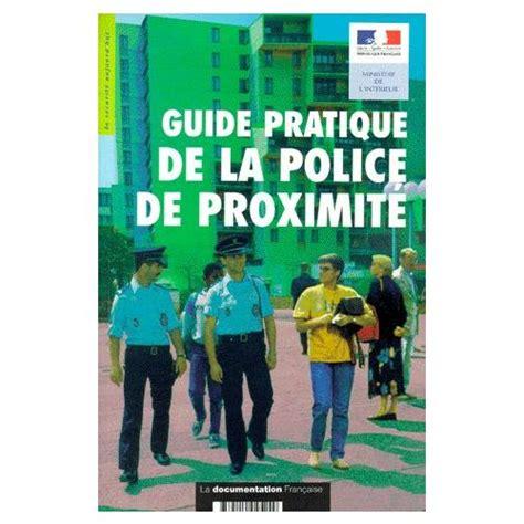 Guide Pratique Police De Proximite