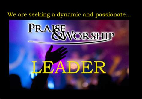 Guide To Lead Praise And Worship