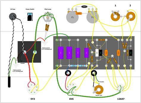 Guitar Amp Wiring Diagrams