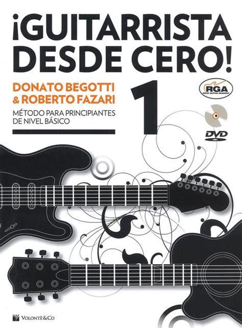 Guitarrista Desde Cero Con Dvd Audio Didattica Musicali