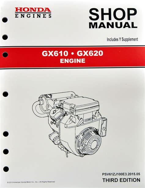 Gx620 Honda Engine Service Manual