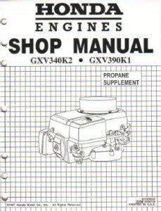 Gxv 340 Service Manual