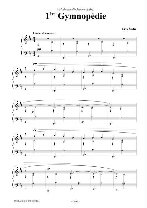 Gymnopédies (3) - Piano