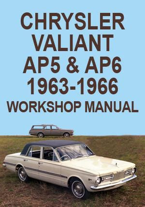 H Series Valiant Service Manual
