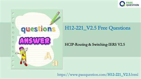 H12-221_V2.5 Interactive Questions