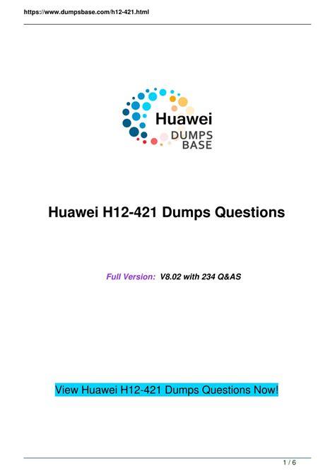 H12-421 Reliable Exam Syllabus