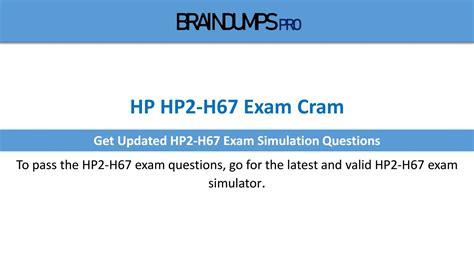 HP2-H92 Exam Cram
