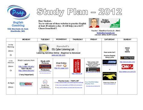 HP5-C08D New Study Plan