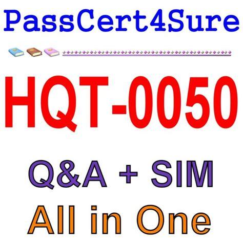 HQT-0050 Reliable Exam Cram