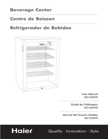 Haier Hc125fvs Manual