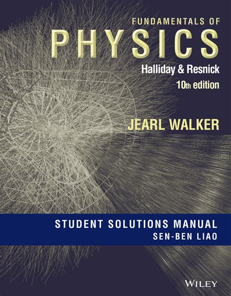 Halliday Fundamentals Of Physics Solution Manual
