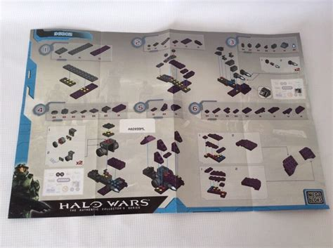 Halo Wars Instruction Manual