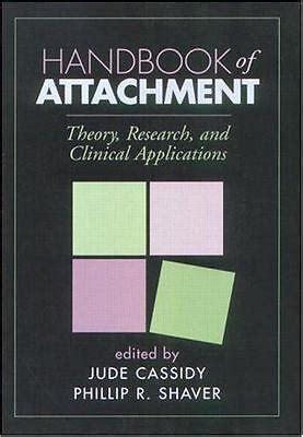 Handbook Of Attachment Theory