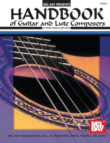 Handbook Of Guitar And Lute Composers