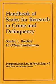 Handbook Of Scales For Research In Crime And Delinquency Modern Perspectives In Energy