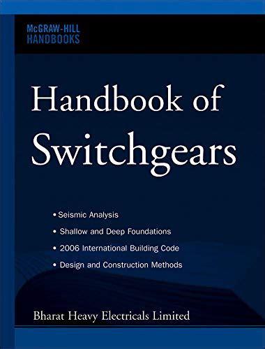 Handbook Of Switchgears Mcgraw Hill Handbooks