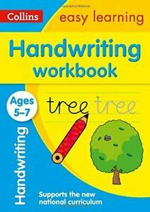 Handwriting Workbook Ages 5 7 Collins Easy Learning Ks1