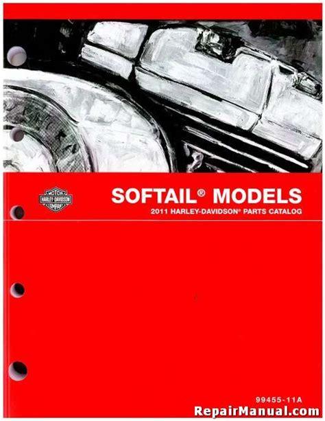 Harley 2012 Softail Parts Manual