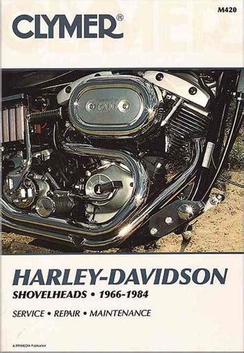 Harley Davidson 1984 Models Factory Service Workshop Manual