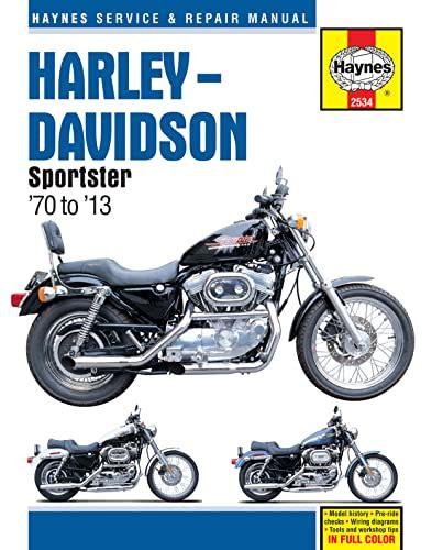 Harley Davidson Sportster 2013 Workshop Manual