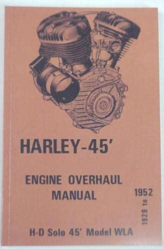 Harley Davidson Wla Service Manuals