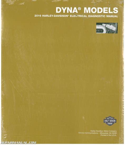 Harley Electrical Diagnostic Manual 2016 Dyna