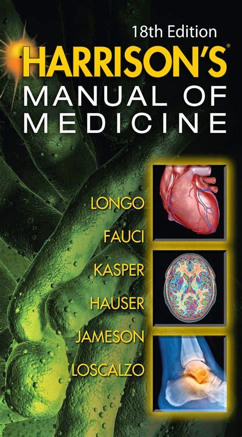 Harrison Manual Of Medicine 18th