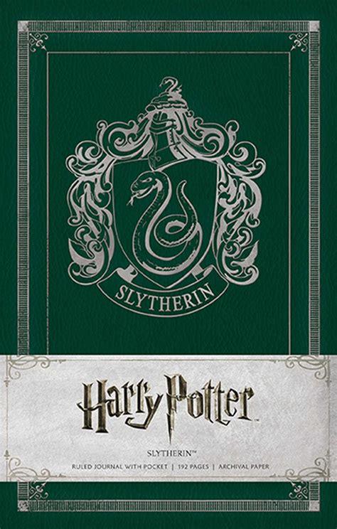 Harry Potter: Slytherin Hardcover Ruled Journal (Harry Potter Journals)