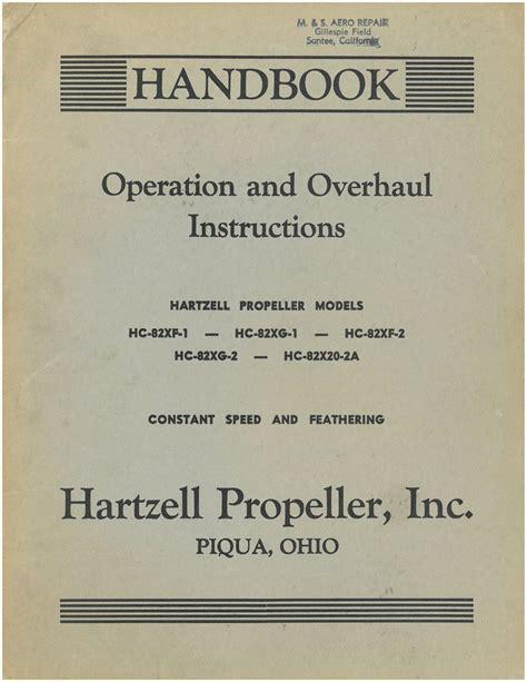 Hartzell Propeller Manuals
