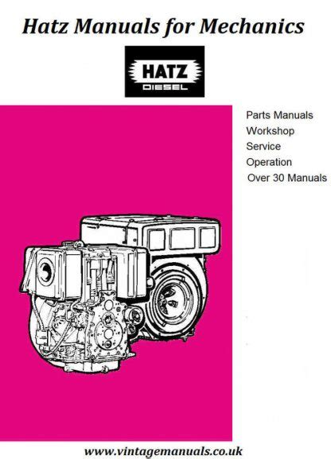 Hatz 108 Instruction Manual