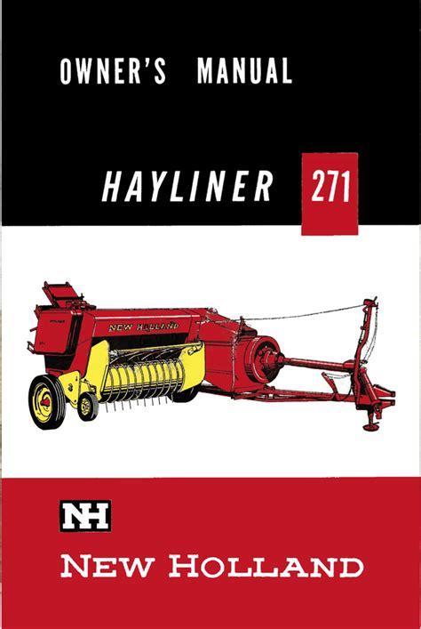 Hayliner 271 Manual