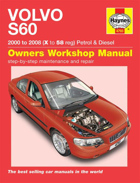 Haynes 2017 Volvo S60 Repair Manual