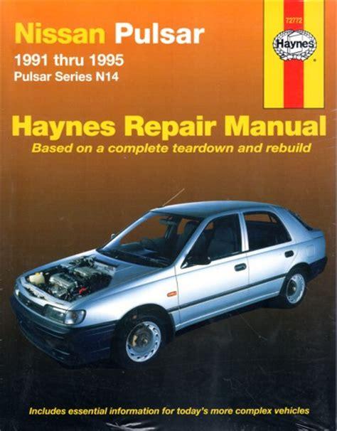 Haynes Car Repair Manual For 1991 Nissan Pickup