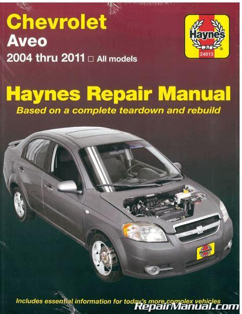 Haynes Chevrolet Avieo Repair Manual