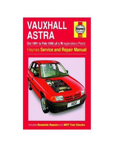Haynes Manual Astra 06