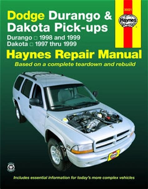 Haynes Manual Dodge Dakota