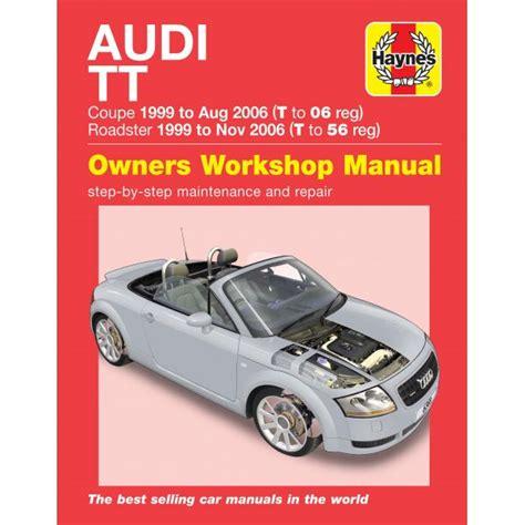 Haynes Manual For Audi Tt