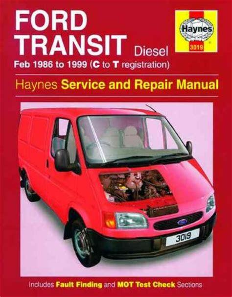 Haynes Manual Ford Transit 1999