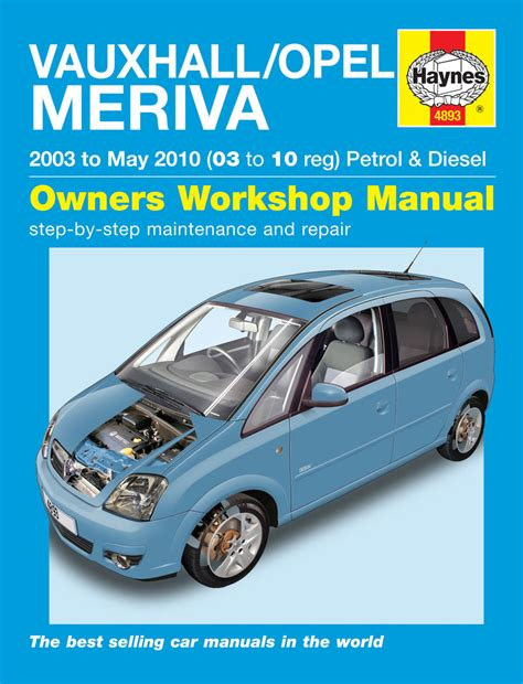 Haynes Manual Meriva