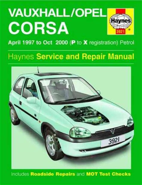 Haynes Manual Of 1999 Opel Corsa B Lite