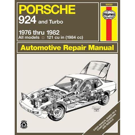 Haynes Manual Porsche 924