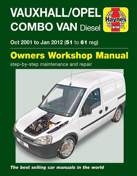 Haynes Manual Vauxhall Combo