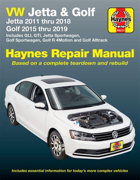 Haynes Manual Volkswagen Jetta
