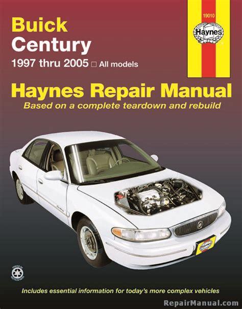 Haynes Repair Manual 1998 Buick Century