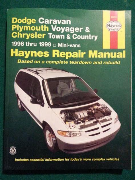 Haynes Repair Manual 2015 Town And Country