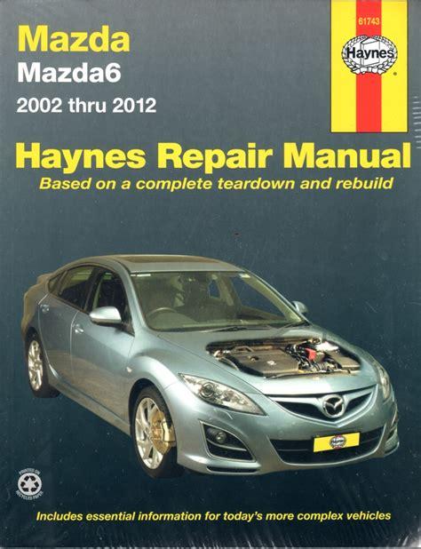 Haynes Repair Manual 2017 Mazda 5 Diesel