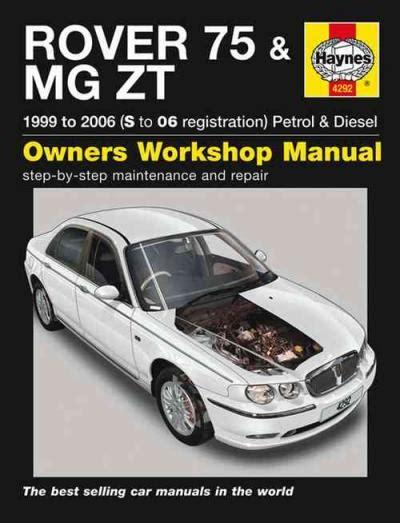 Haynes Repair Manual For Rover 75